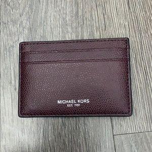 Men's Michael Kors Card Wallet w/ Money Clip